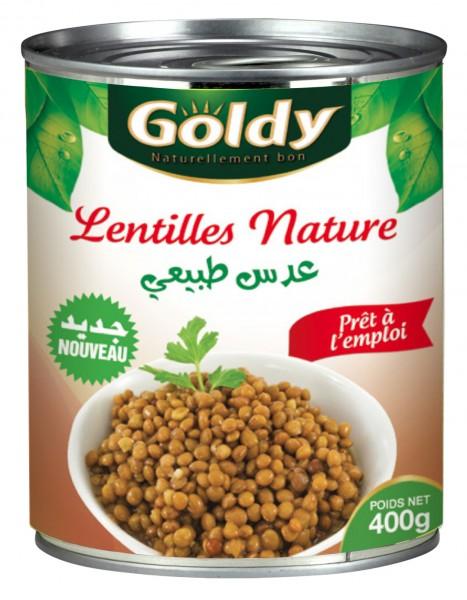 Lentilles Nature
