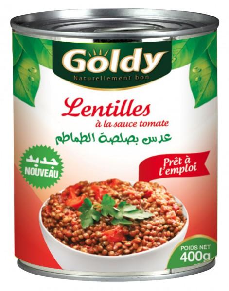 Lentilles a la Sauce Tomate