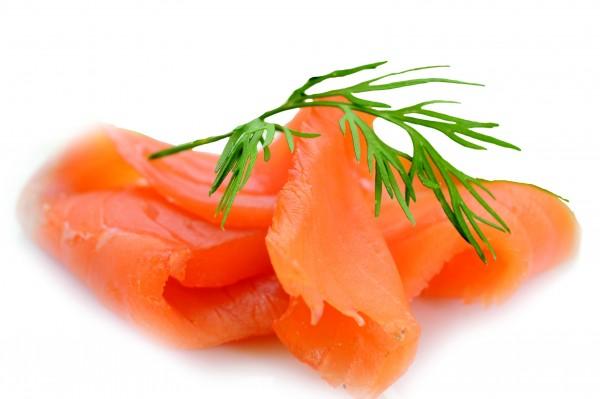 Miettes de saumon fumé
