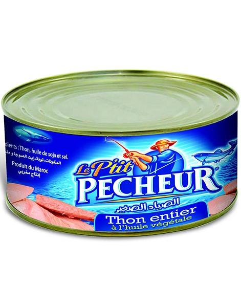 Filets de thon à l'huile végétale